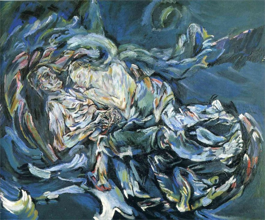 Oskar Kokoschka bride-of-the-wind-1914.jpg!HD