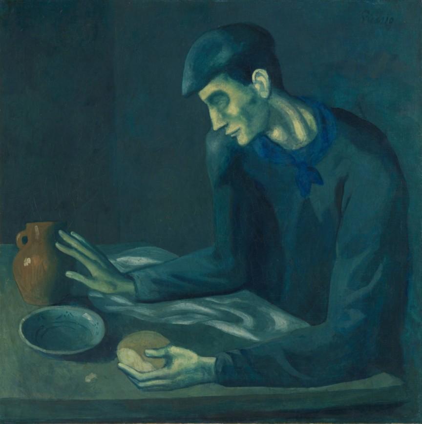 Pablo Picasso l'aveugle