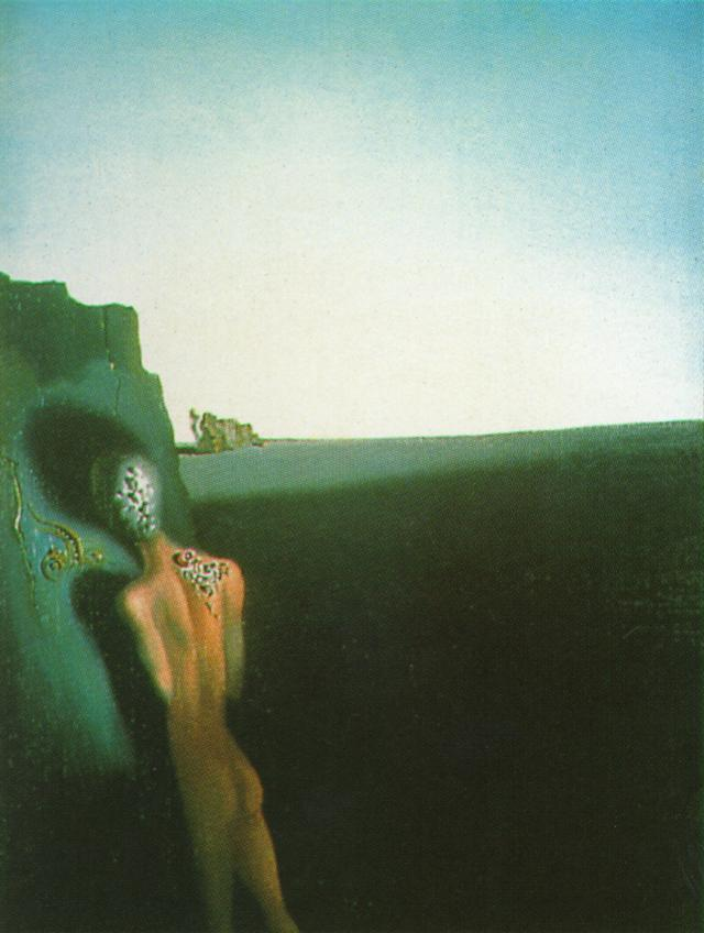 Salvador Dali __ solitude-anthropomorphe