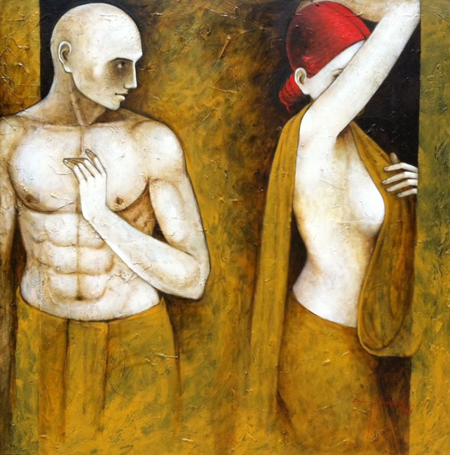 Asit Kumar Patnaik 1968 - Indian painter -   (9)