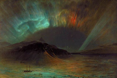 Edwin Church  Aurores boréales _500