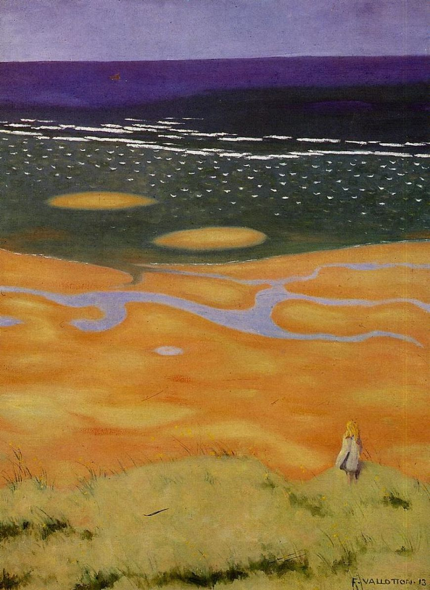 Félix Vallotton the-rising-tide-1913