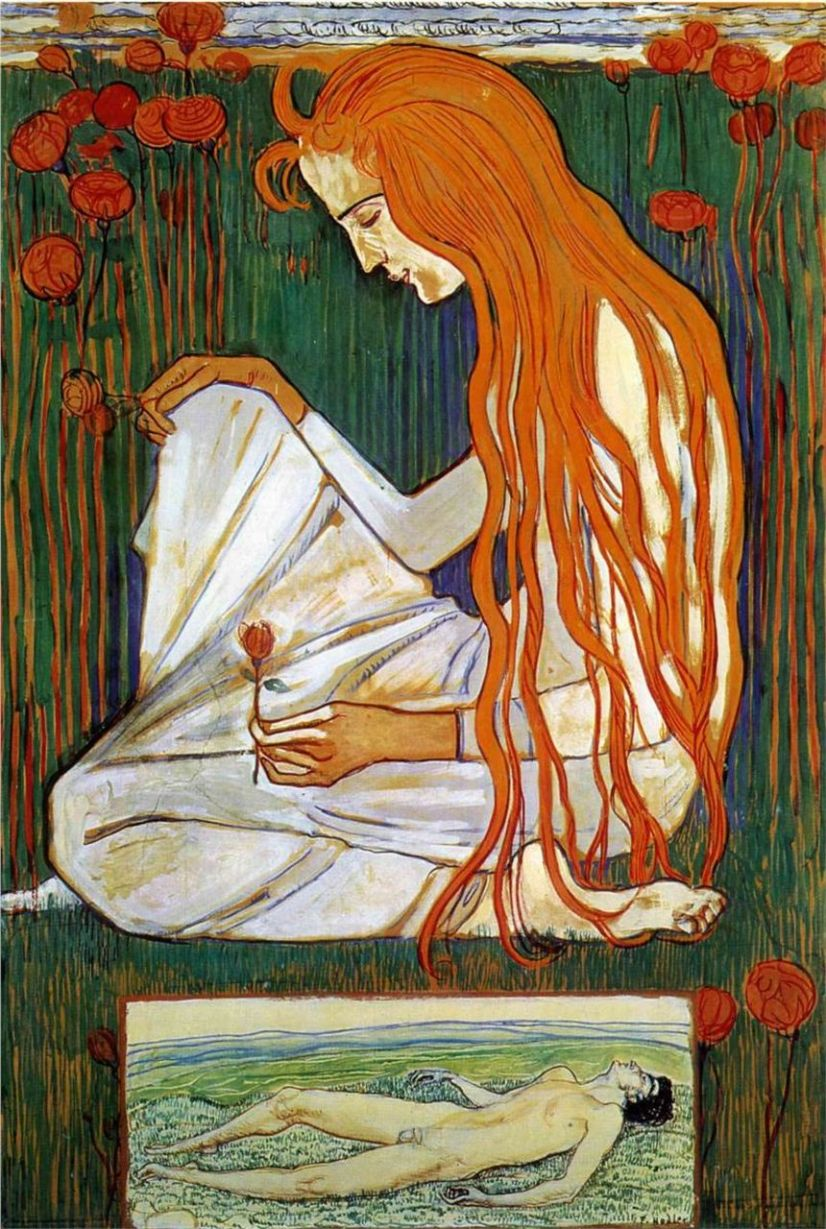 Ferdinand Hodler the-dream-1897.jpg!HD