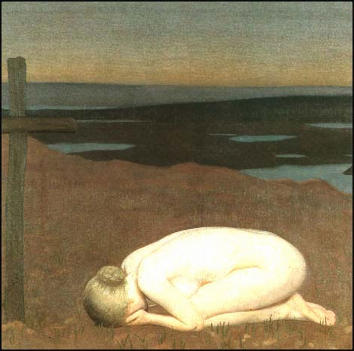 George Clausen  YouthMourning_1916_