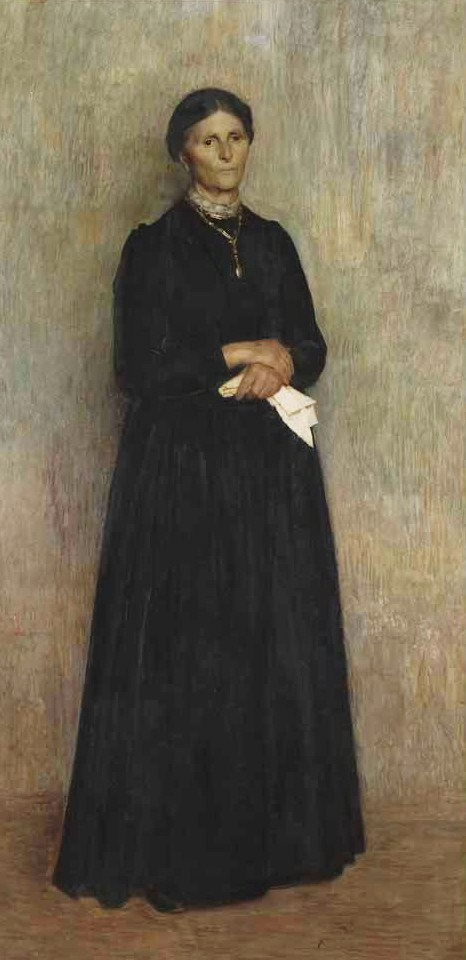 Giuseppe Pellizza da Volpedo (Italian artist, 1868-1907) My Mother 1890 (2)