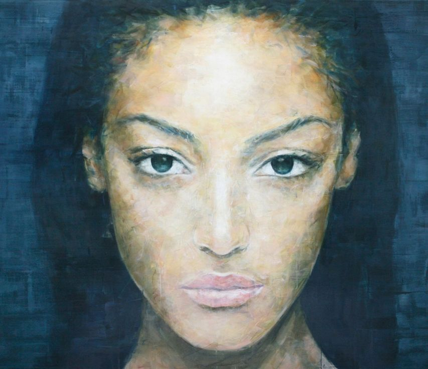 Harding Meyer 1964 - Brazilian Portrait painter -   (2)