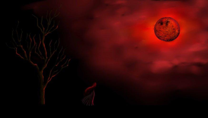 Linda Noul   Lune rouge