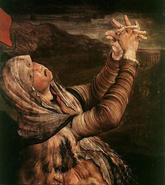 Matthias Grünewald _-_The_Crucifixion_(detail)_ 5