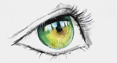 yeux vertsl
