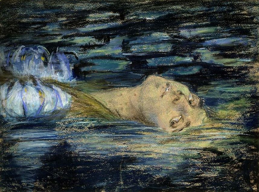 Alice Pike Barney_-_Waterlily [1280x768]