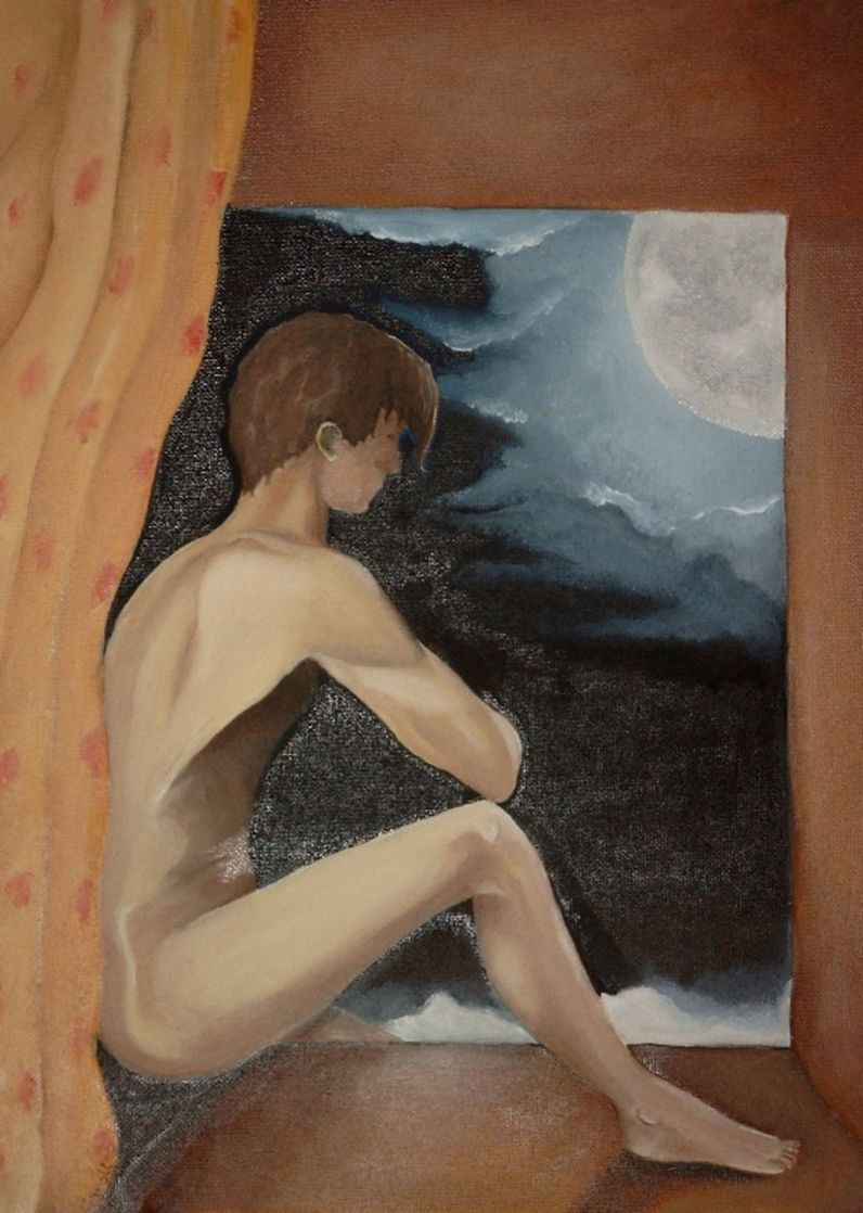 Caroline Duvivier l'homme de la lune