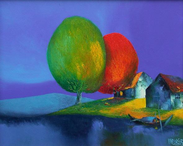 Dao Hai Phong     phong-two-trees