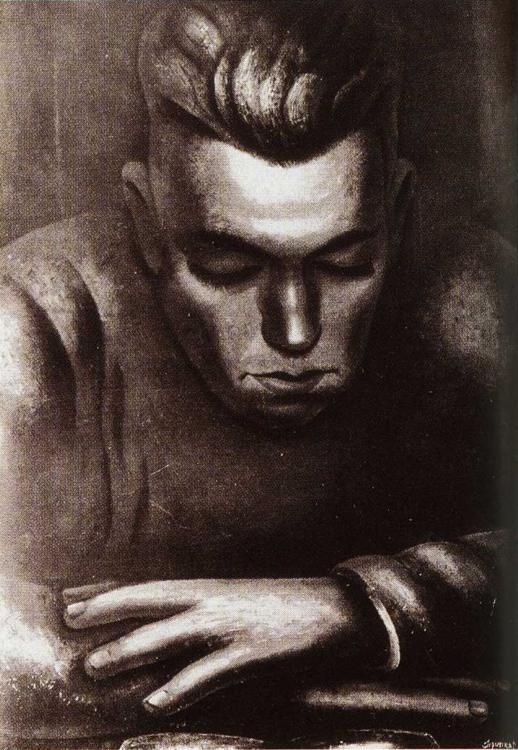David Alfaro Siqueiros hart-crane-1931