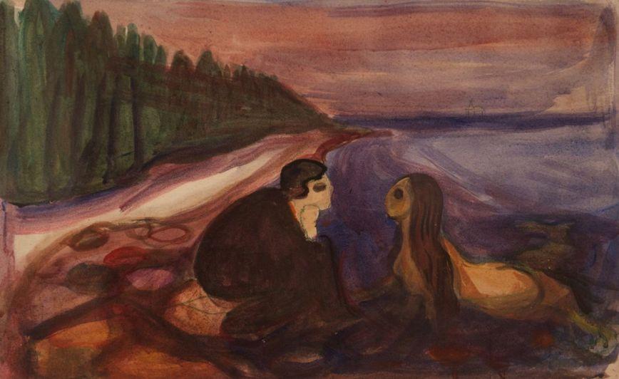 Edvard Munch mermaid_1896 [1280x768]
