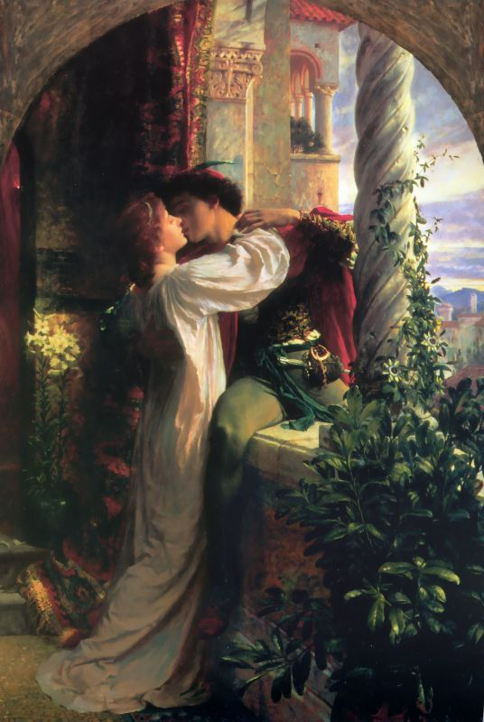 Frank Dicksee romeo_and_juliet, 1884-large arc