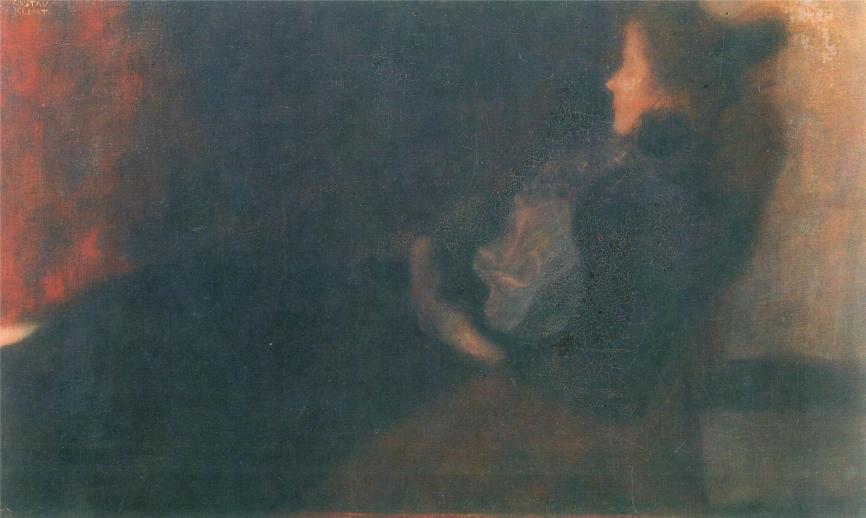 Gustav Klimt lady-by-the-fireplace-1898.jpg!HD