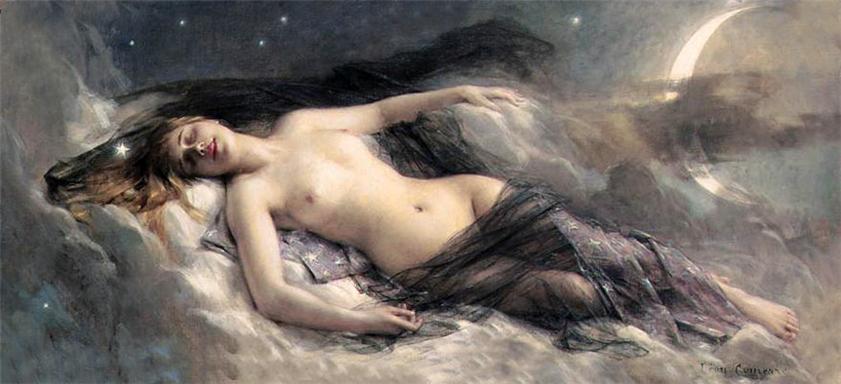 Leon-Francois Comerre  lune  rl
