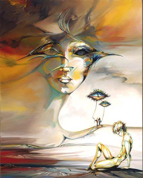 Ora Tamir - Israeli Surrealist painter - Tutt'Art@ (4)