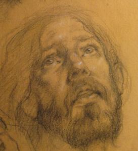 Robert Liberace crucifix-study-close-up-12