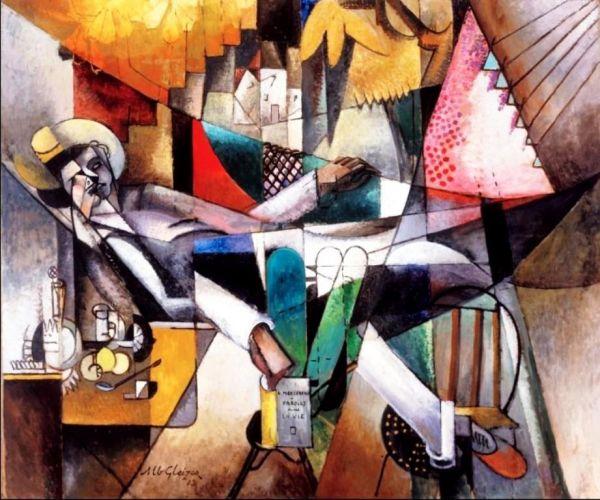 Albert Gleizes  -lhomme-au-hamac-man-in-a-hammock-1913-1356589973_b