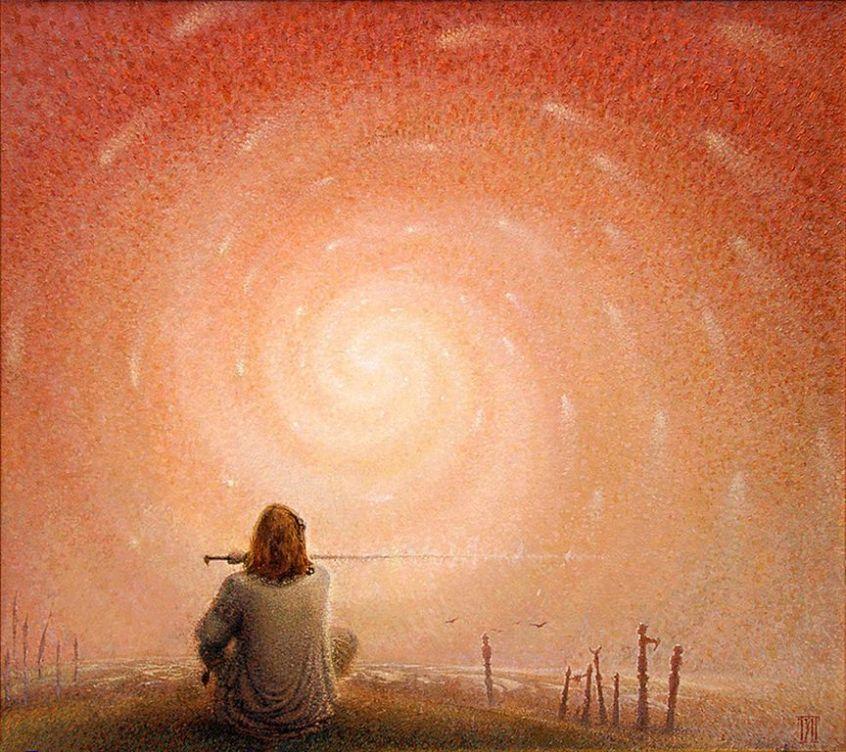 Alexandre Pavlenko  1974 - Ukrainian Pointillist painter (30) [1280x768]