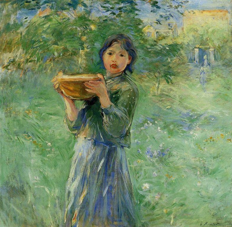 Berthe Morisot   le bol de lait  [1280x768]