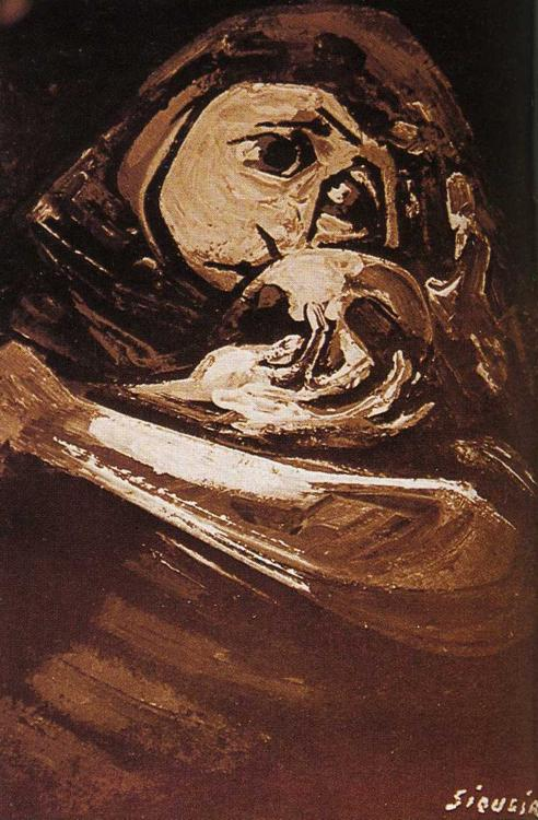 David Alfaro Siqueiros enough-1961