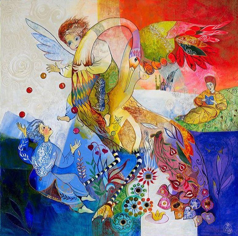 Didier Delamonica - French Mystical Fantasy painter -    (37) [1280x768]