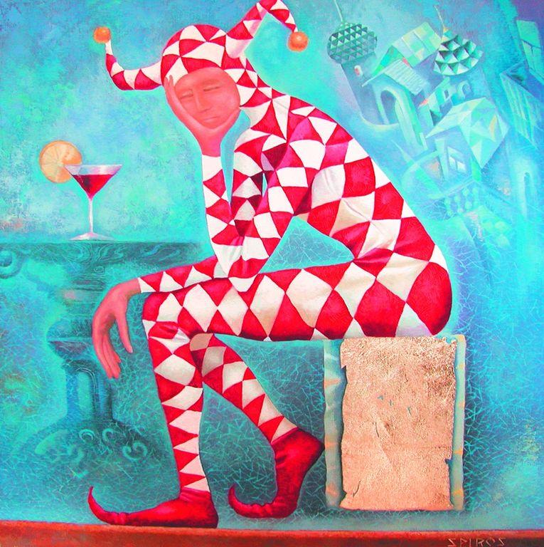 Dmitry Spiros  - Russian Impressionist painter -   (52) [1280x768]