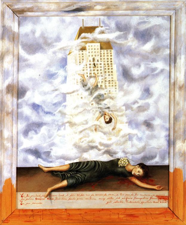 Frida Kahlo  suicide of dorothy hale