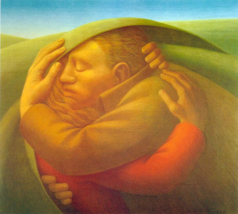 George Clair Tooker 1920-2011 - American Magic Realist painter - Tutt'Art@ (28) [1280x768]
