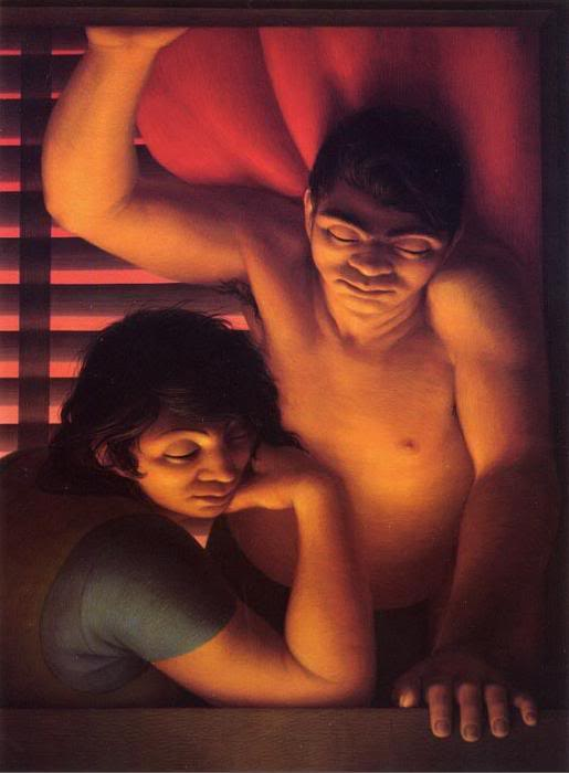 George Clair Tooker 1920-2011 - American Magic Realist painter - Tutt'Art@ (40)