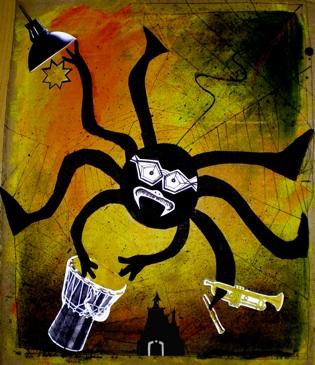 Karine Kubala  menagerie spider