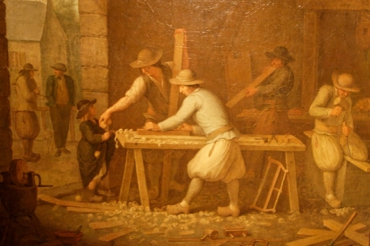 Olivier Stanislas Perrin  atelier-de-menuisier