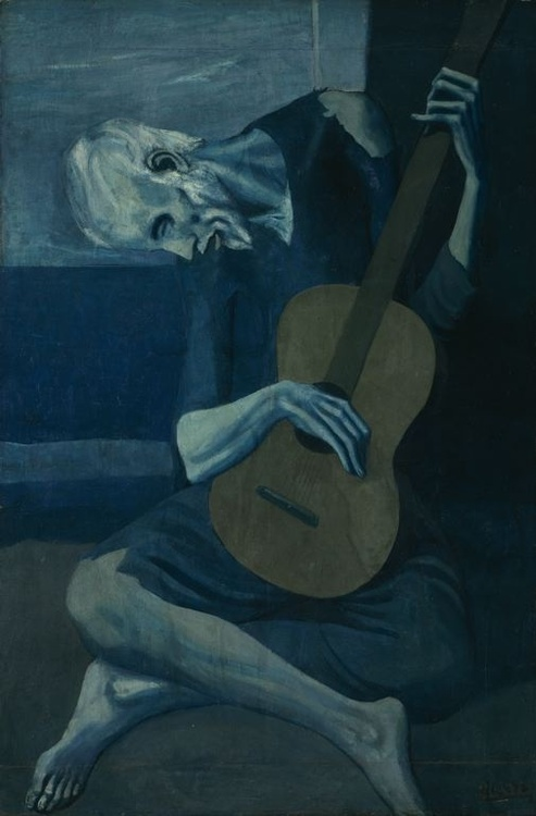 Pablo Picasso - The Old Guitarist (1903) 00
