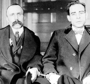 Sacco et Vanzetti 1923