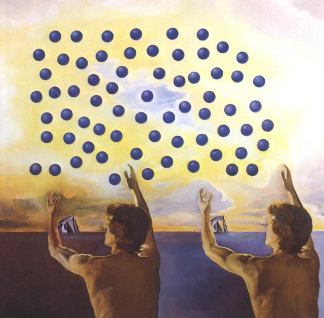 Salvador Dali __ The Harmony of the Spheres 1978