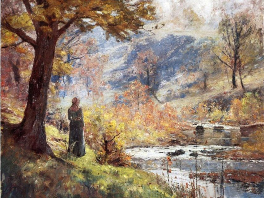 Theodore Clement Steele  morning-by-the-stream-1893 [1280x768]