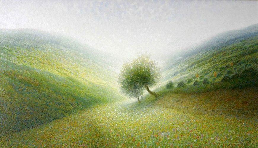 Alexandre Pavlenko  1974 - Ukrainian Pointillist painter (53) [1280x768]