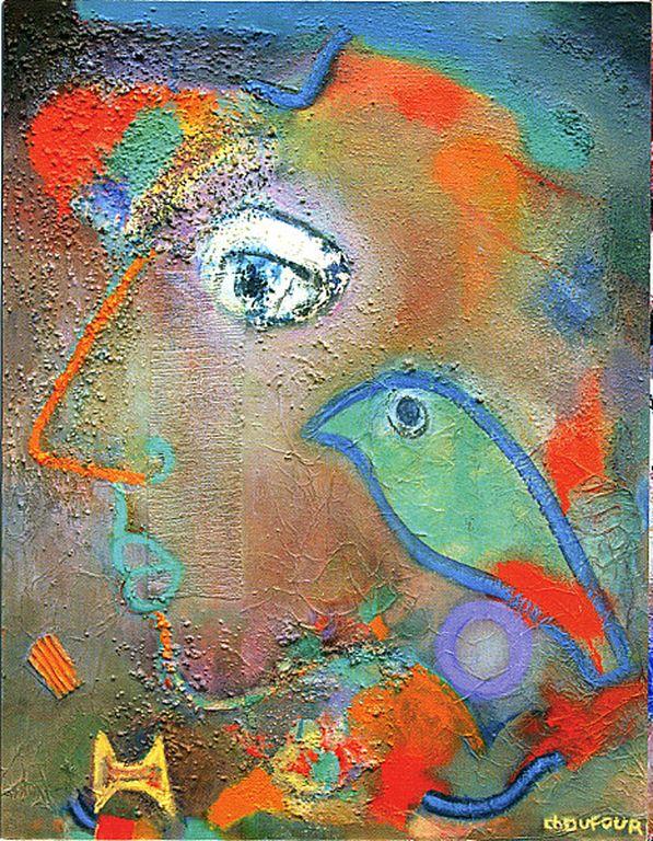 Chantal Dufour -L-Oiseau-vert-1994 [1280x768]
