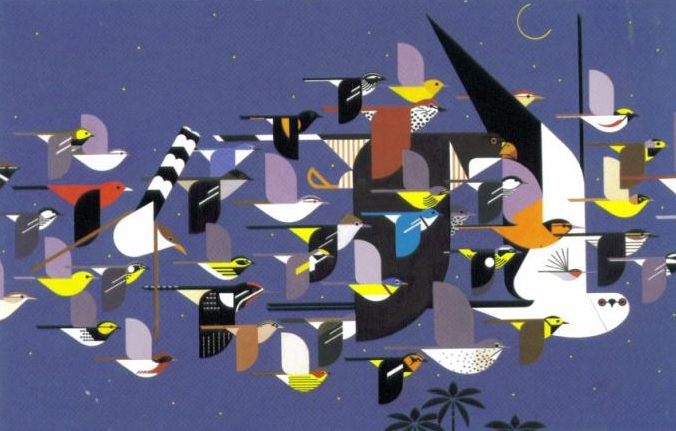Charley Harper mystery-of-the-missing-migrants