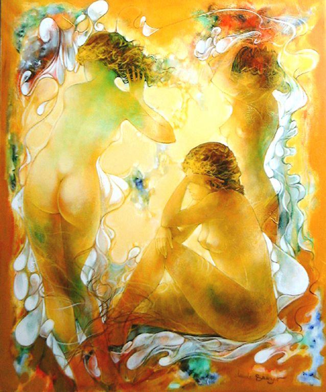 Claude Sauzet Les-trois-graces-100x81cm-550 [1280x768]