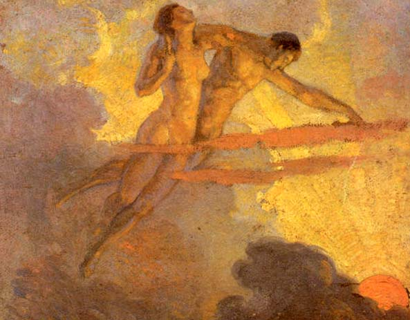 Domingo Moreno Otero  -fantasia-vespertina-pintores-latinoamericanos-juan-carlos-boveri