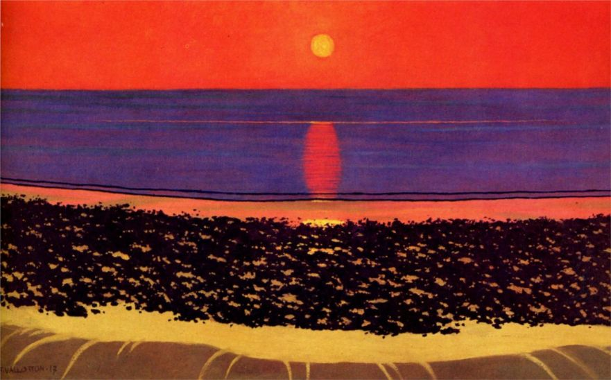 Félix Vallotton to-lay-down-sun-with-villerville-1917.jpg!HD [1280x768]
