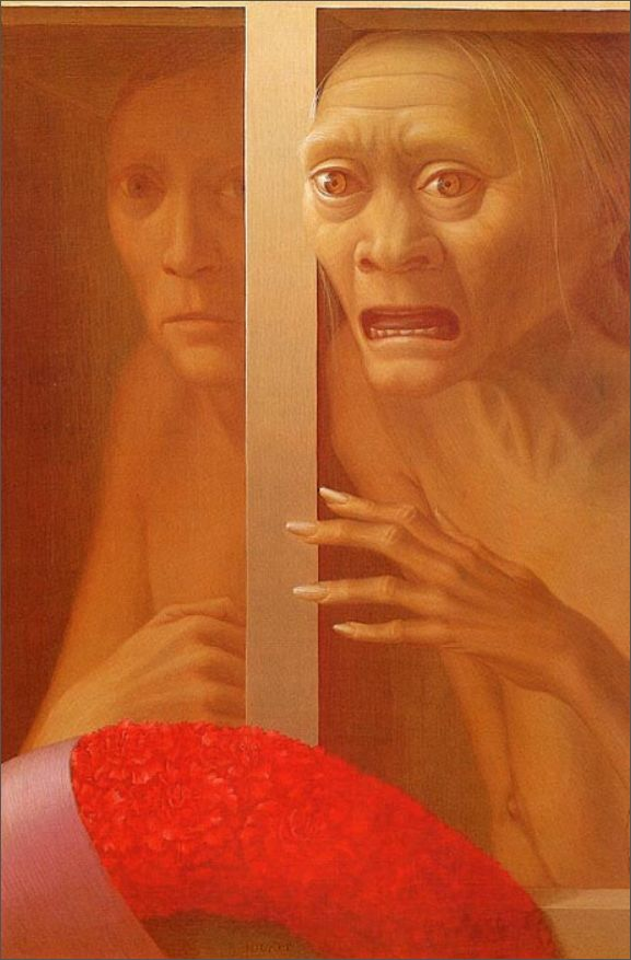 George Clair Tooker 1920-2011 - American Magic Realist painter - Tutt'Art@ (3)