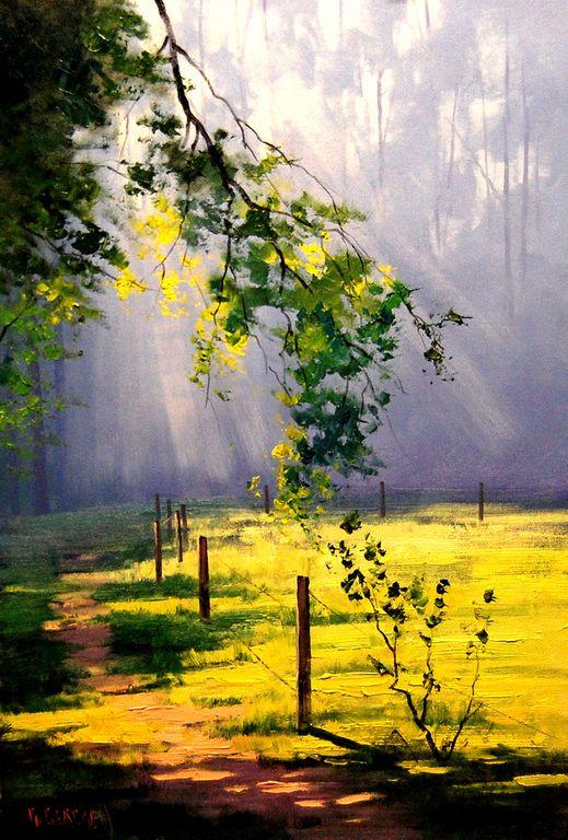 Graham Gercken 1960 -  Australian Impressionist Landscape painter -  (11) [1280x768]