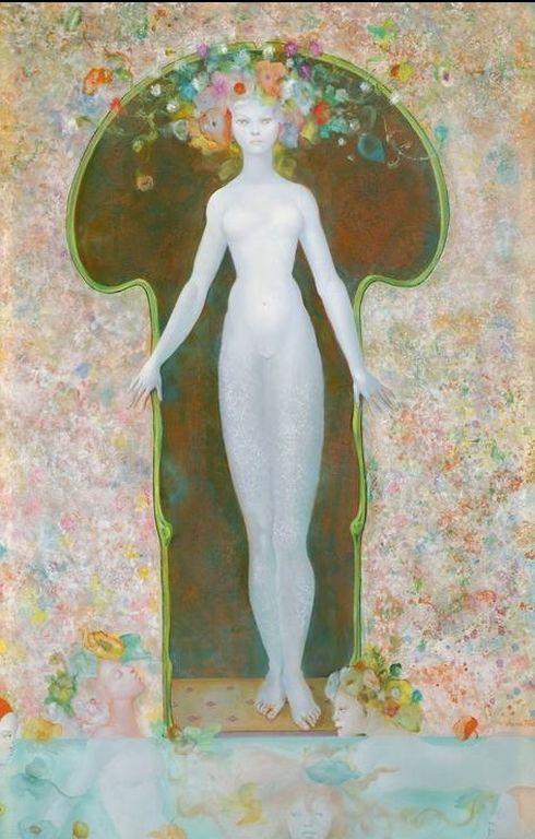 Leonor Fini   La-Serrure-1965-Leonor-Fini [1280x768]