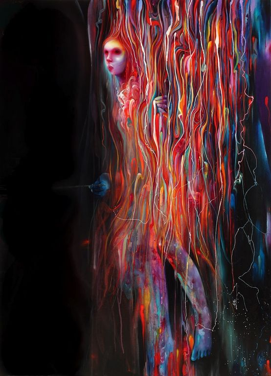 Michael Page 1979 - American Pop Surrealism painter -   (14) [1280x768]