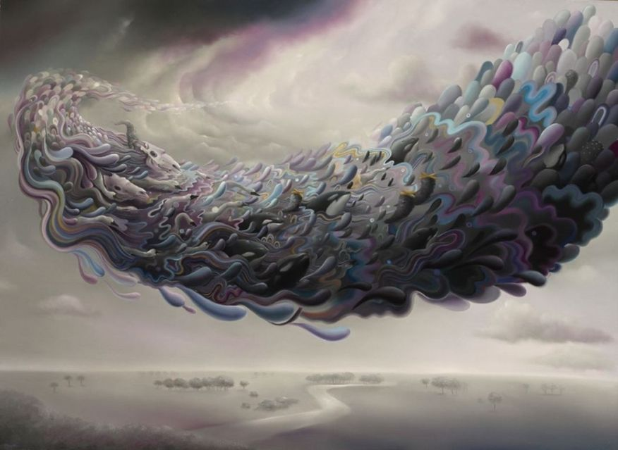 Michael Page 1979 - American Pop Surrealism painter -   (15) [1280x768]