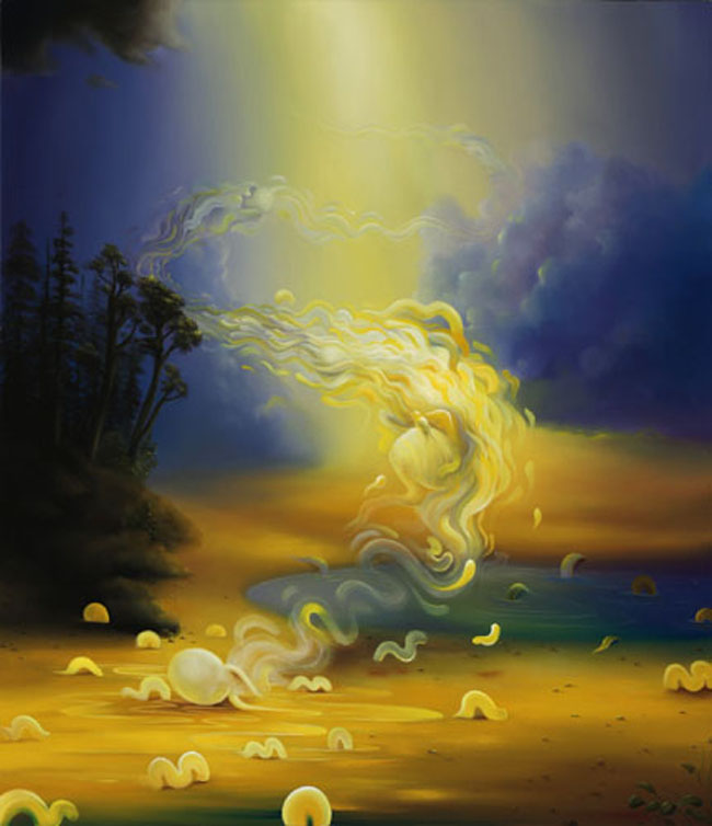 Michael Page 1979 - American Pop Surrealism painter -   (3)
